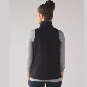 Lululemon Women's Size 6 Black Going Places Vest